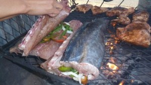 how to braai a snoek
