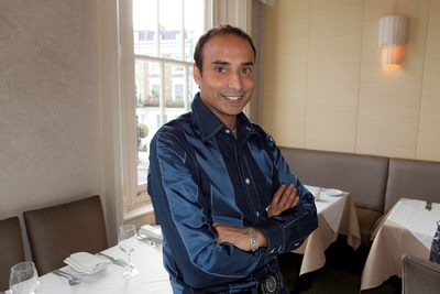 Renowned TV chef and restaurant owner – Reza Mohammed