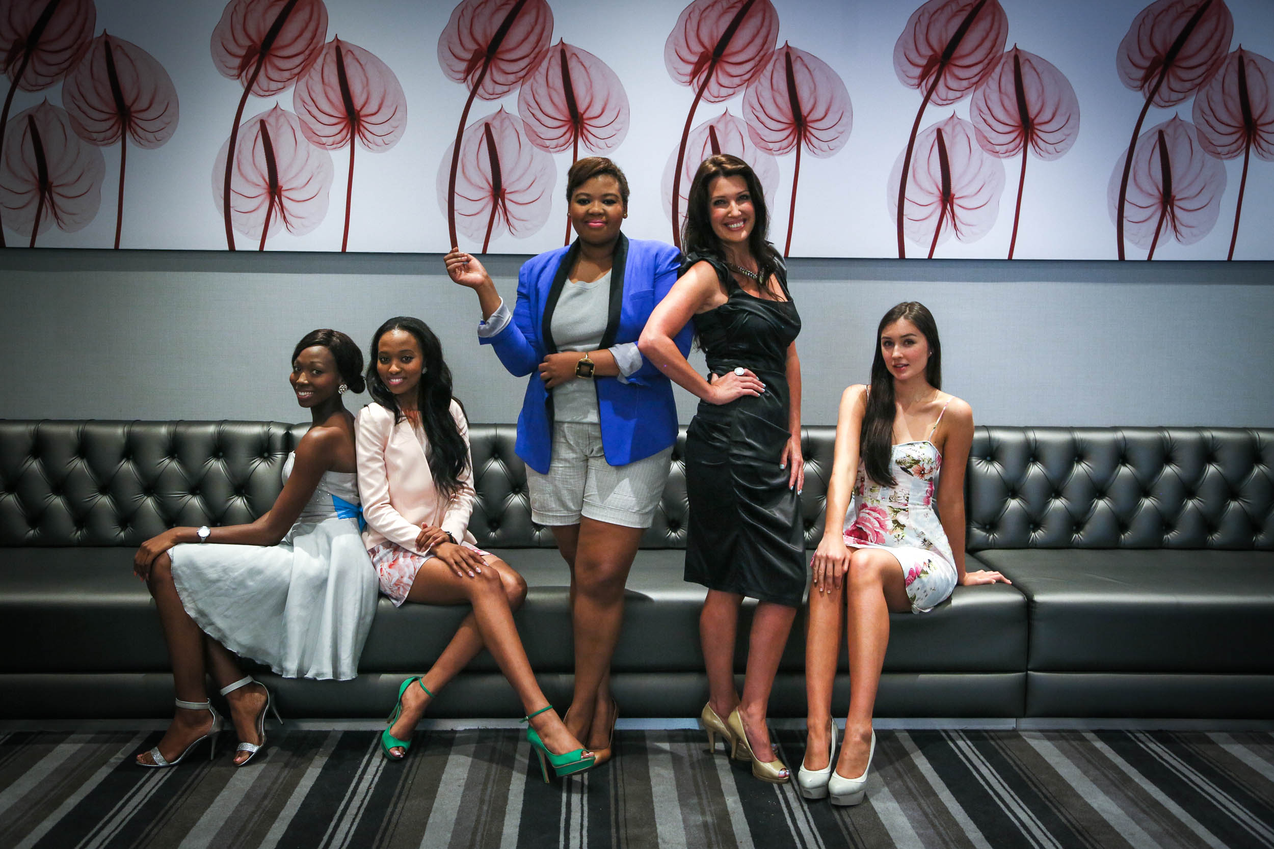 Miss South Africa Semi-Finalists and Judges 2014