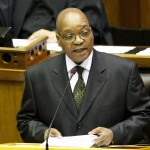 State of The Nation address in Cape Town, South Africa